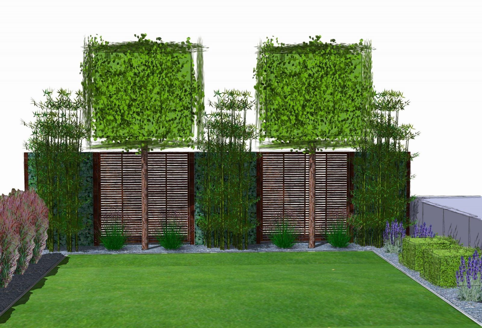 Sichtschutz Zum Nachbarn Ideen Einzigartig Rankgitter Zaun Holz von Sichtschutz Zum Nachbarn Ideen Bild