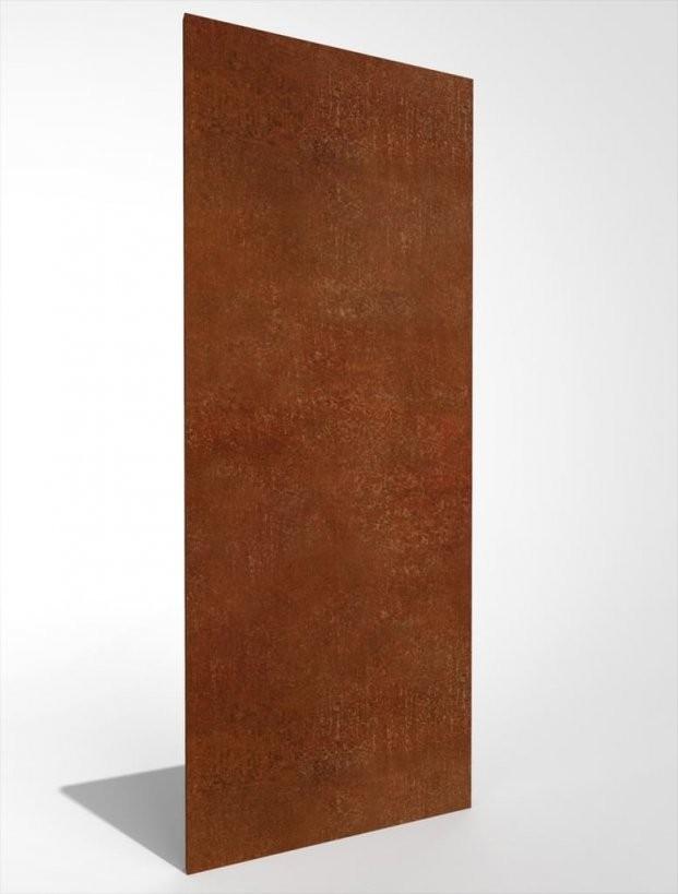 Sichtschutzwand Sichtschutz Edelrost Rost 125*50 Cm  Real von Sichtschutz Garten Metall Rost Bild