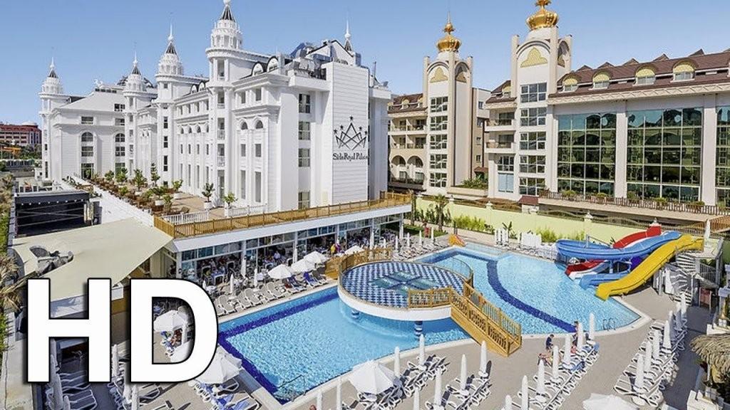 Side Royal Palace Hotel  Spa Evrenseki Türkei  Youtube von Vikingen Infinity Resort & Spa Aktuelle Bilder Bild