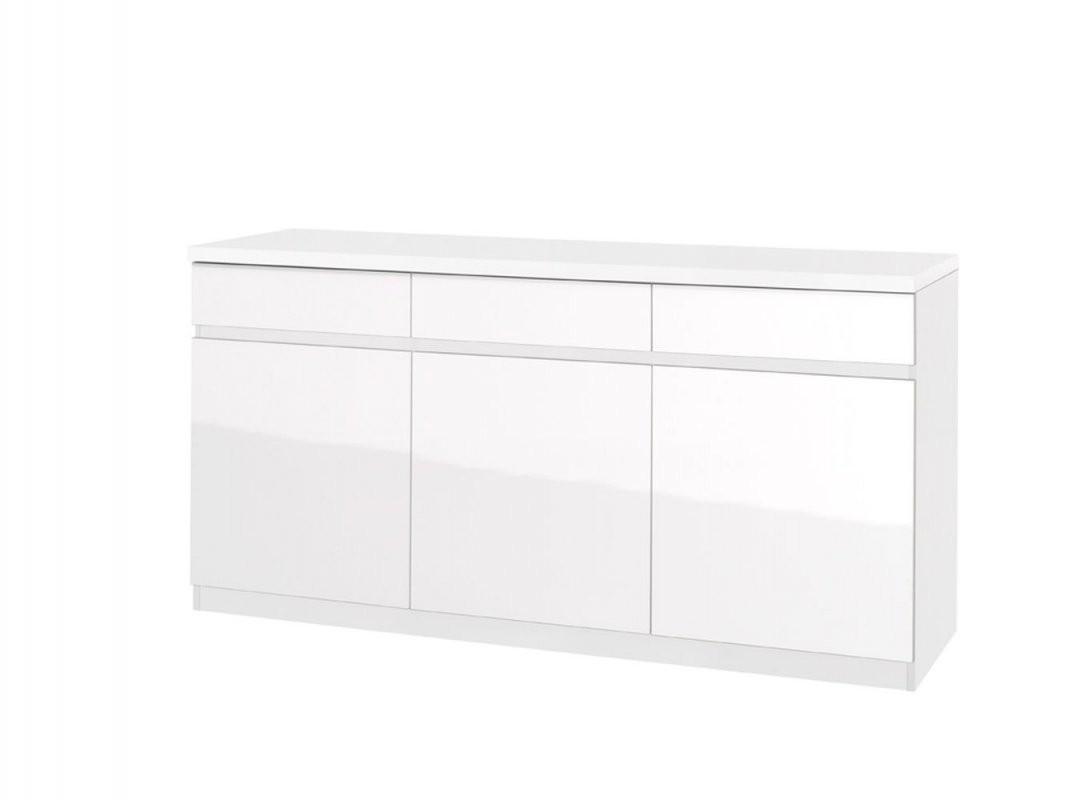 Sideboard Anrichte Kommode 165 Cm Breit Türen 3 Höhe (Cm) 84 von Sideboard Tiefe 50 Cm Bild