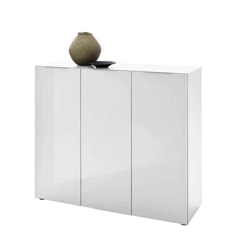 Sideboards In 120 Bis 130 Cm Breite Mit Schubladen Und Türen von Kommode Weiß Hochglanz 120 Cm Breit Bild