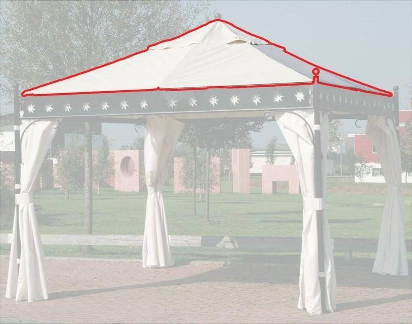 Siena Garden Ersatzdach Dach Für Pavillon Korfu 6  Real von Ersatz Pavillon Dach 3X3 Bild