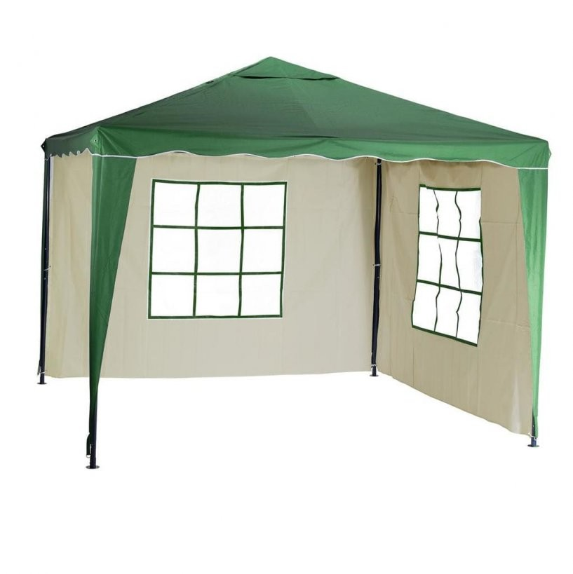 Silvertree Pavillonset Tim 3 X 3 M Inkl 2  Real von Seitenteile Pavillon 3X3 Beige Photo