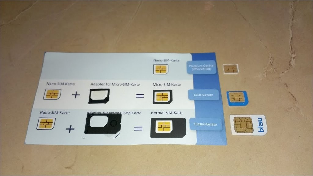 Sim Adapter From Nano Sim To Micro Sim Or Regular Sim Card  Sim von Nano Sim Auf Micro Sim Adapter Selber Bauen Photo