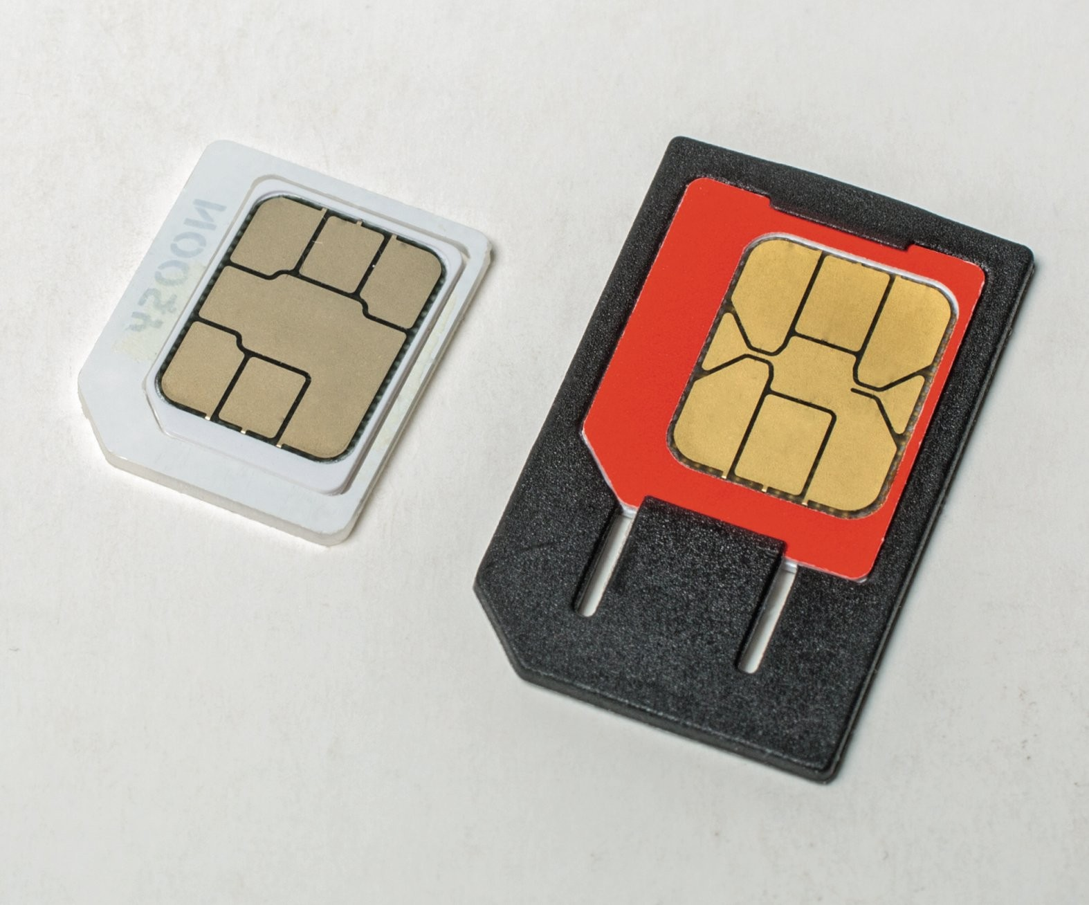 Sim Nach Maß  C't  Heise Magazine von Nano Sim Auf Micro Sim Adapter Selber Bauen Bild