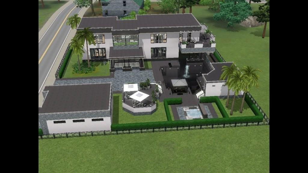 Sims 3  Haus Bauen  Let's Build  Modernes Haus Für Alex Prinz von Sims 3 Haus Bauen Schritt Für Schritt Photo