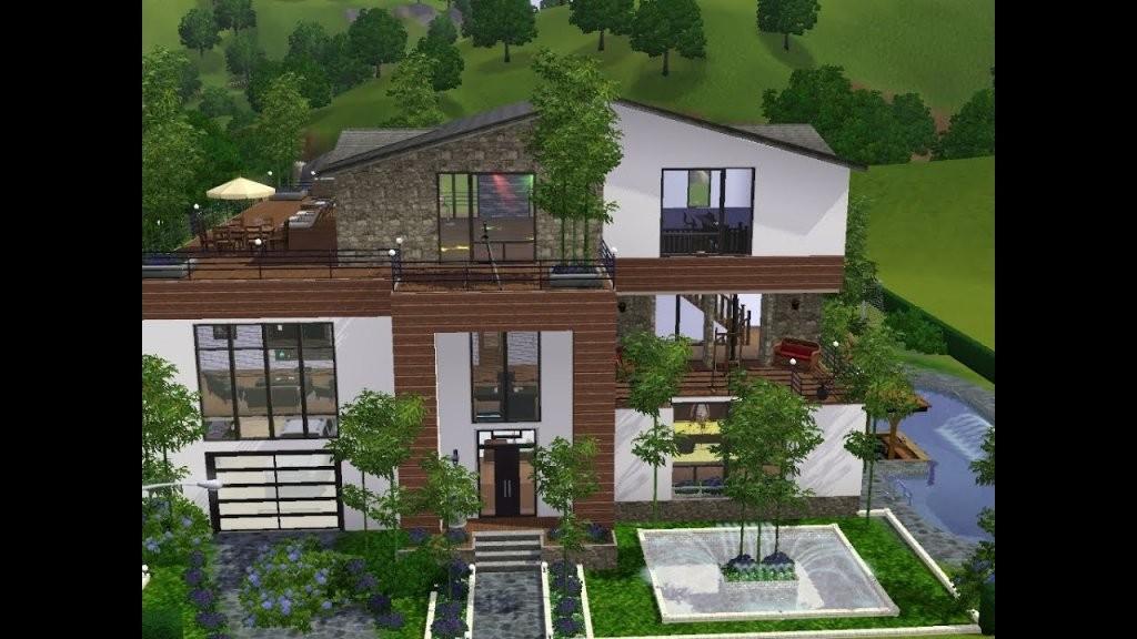 Sims 3  Haus Bauen  Let's Build  Viel Platz Für Familie Heineken von Sims Häuser Zum Nachbauen Bild