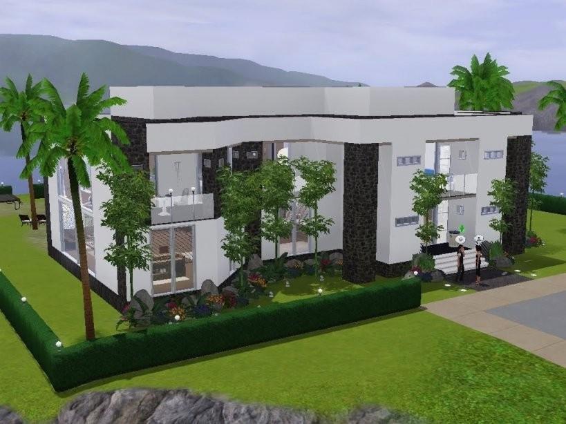 Sims 3 Häuser Ideen  Dekorieren Bei Das Haus von Sims Häuser Zum Nachbauen Bild