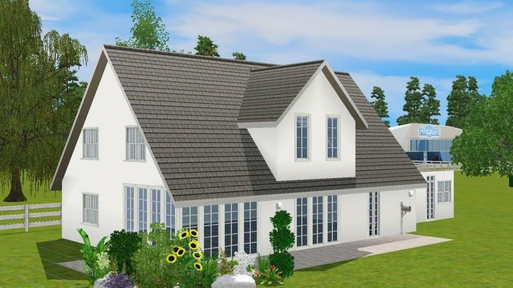 Sims3 Bauen Kleines 1 Familien Haus  Youtube von Sims 3 Haus Bauen Schritt Für Schritt Bild