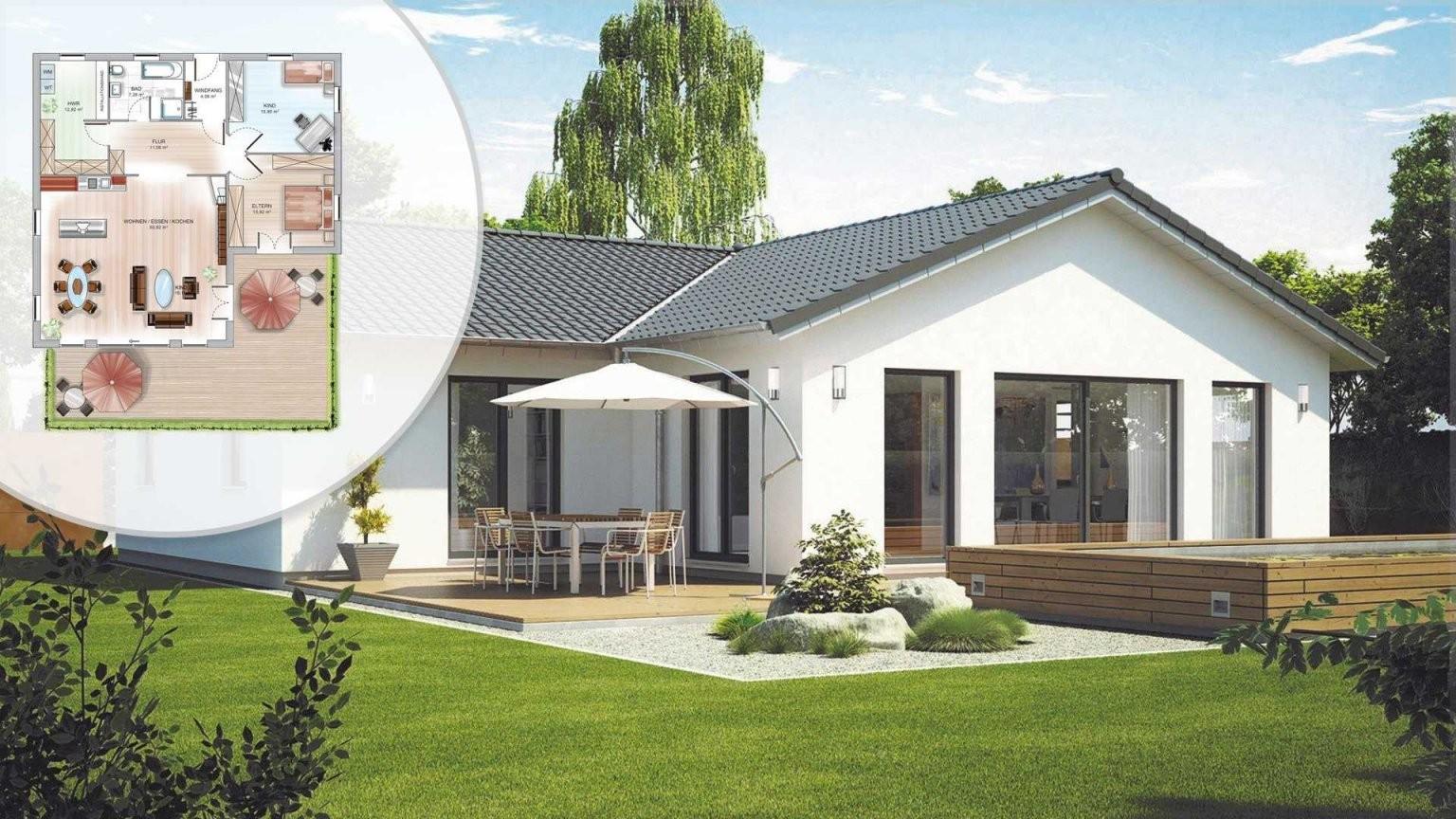Singlehaus Bauen  Häuser Anbieter  Preise Vergleichen von Kleines Fertighaus Für 2 Personen Bild