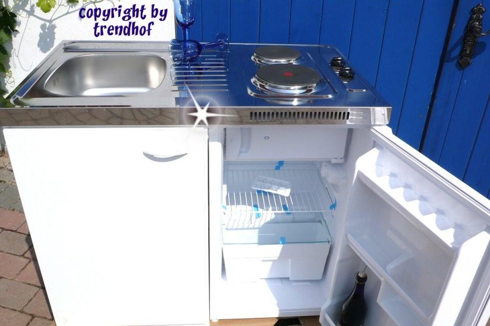 Singleküche Weiß Inkl Kühlschrank von Pantryküche 100 Cm Mit Kühlschrank Photo