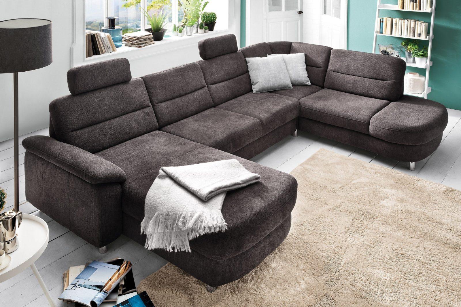 Sit  More Home Basic Delano Wohnlandschaft Grau  Möbel Letz  Ihr von Wohnlandschaft Sit & More Bild