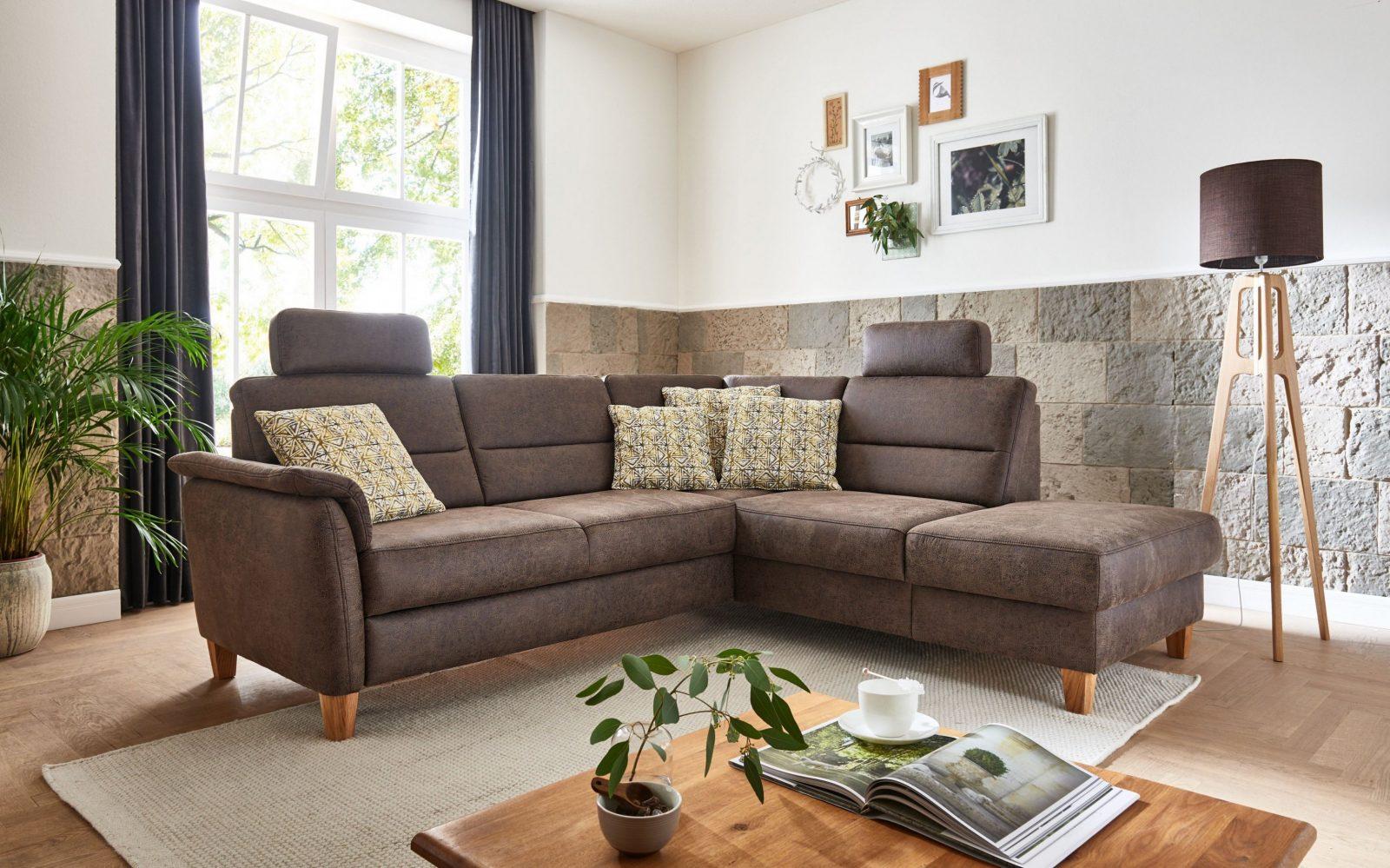 Sit  More Palmera Polsterecke Braun  Möbel Letz  Ihr Onlineshop von Sit And More Polsterecke Bild
