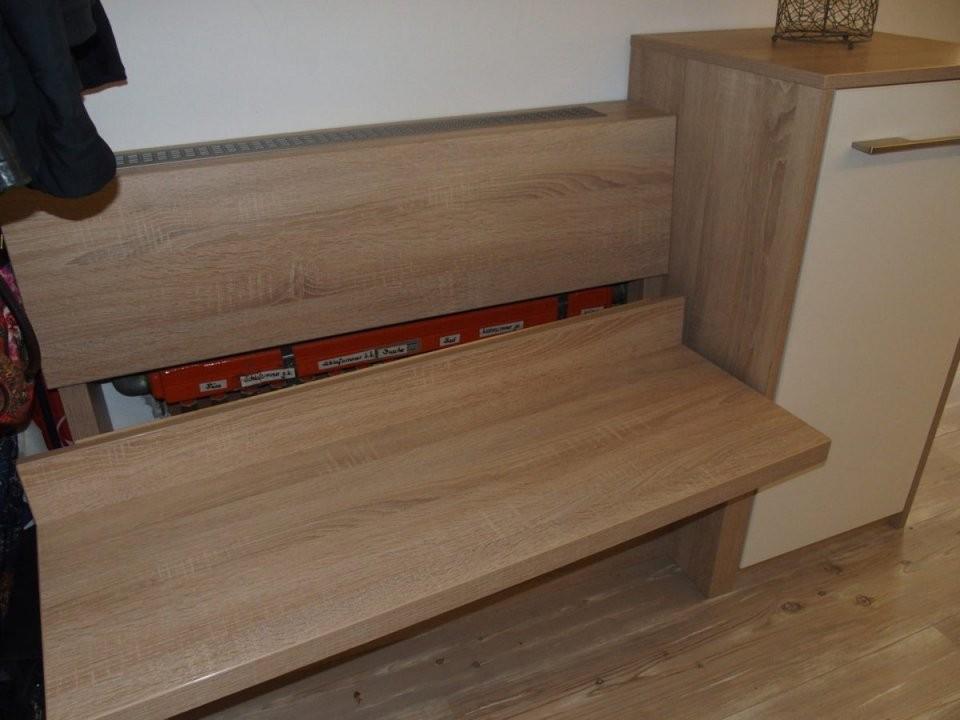Sitzbank Mit Schuhschrank – Die Schreinerwerkstatt von Fenster Sitzbank Über Heizung Photo