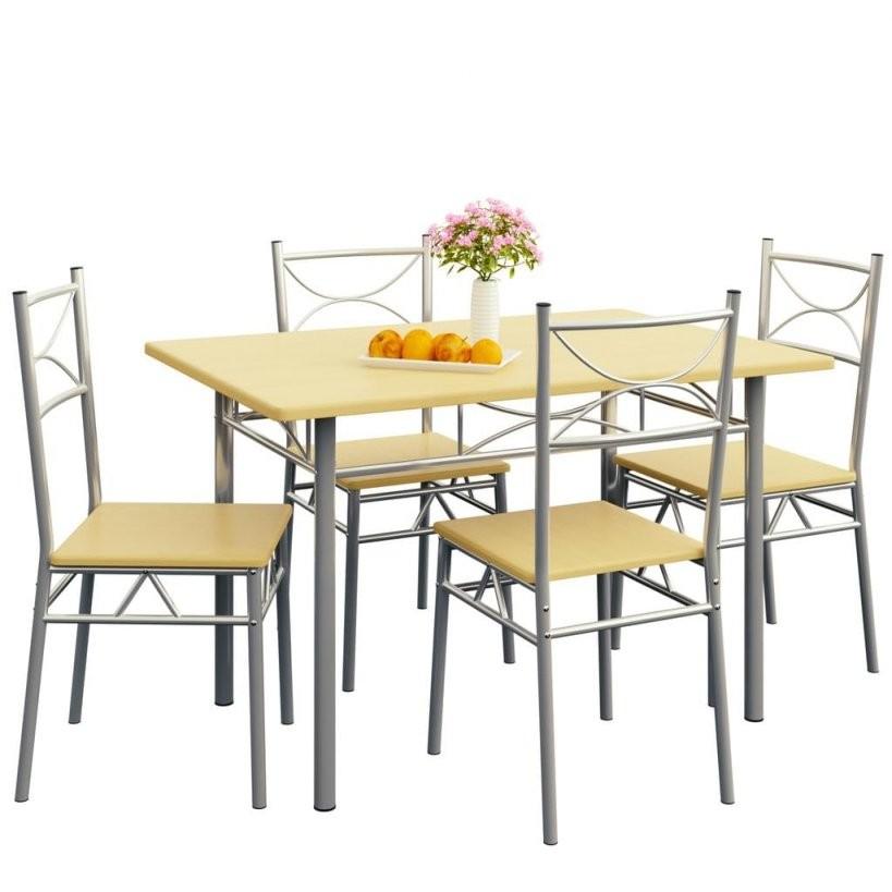Sitzgruppe Essgruppe Küchentisch Paul Mit 4 Stüh  Real von Küche Tisch Und Stühle Bild