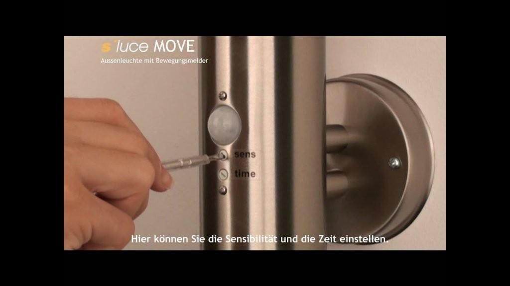 S´luce Move Bewegungsmelder Richtig Einstellen Wwwskapetze von Casalux Außenleuchte Mit Bewegungsmelder Bild