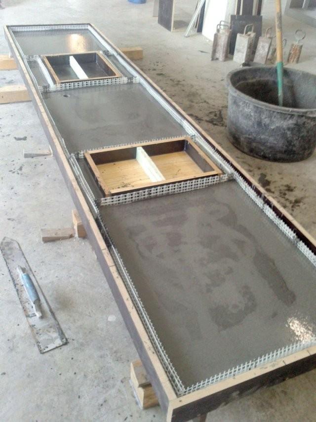 Smoresswift von Küchenarbeitsplatte Beton Selber Machen Photo