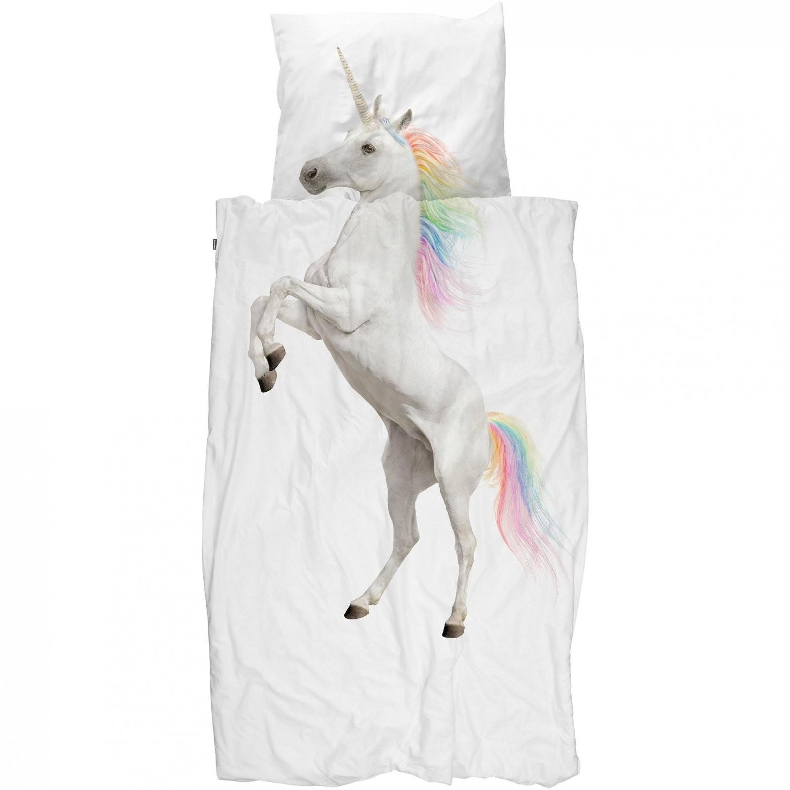 Snurk Bettwäsche Einhorn  Tiere  Kinder  Jugend  Bettwäsche von Bettwäsche Fotodruck Tiere Bild