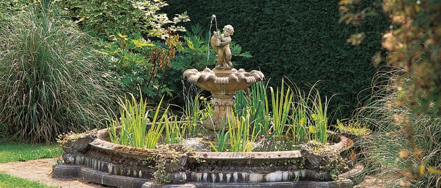 So Bauen Sie Ihren Eignen Brunnen Im Garten  Ratgeber von Garten Springbrunnen Selber Bauen Bild