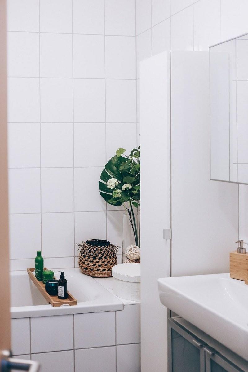 So Einfach Lässt Sich Ein Kleines Badezimmer Modern Gestalten In von Kleines Bad Ohne Fenster Gestalten Bild
