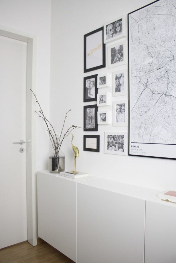 So Gestaltest Du Einen Schmalen Flur Gemütlich  Praktisch  Wohnung von Schmales Sideboard Für Flur Photo