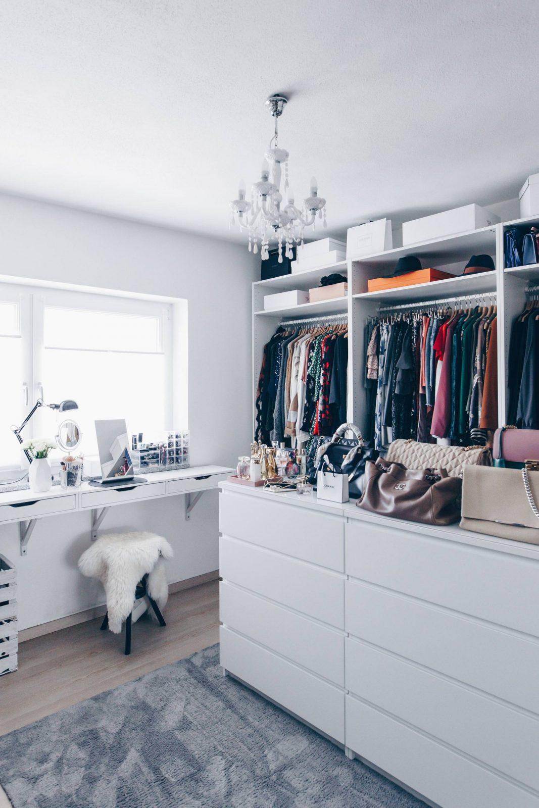 So Habe Ich Mein Ankleidezimmer Eingerichtet Und Gestaltet von Ikea Schrank Selber Planen Bild