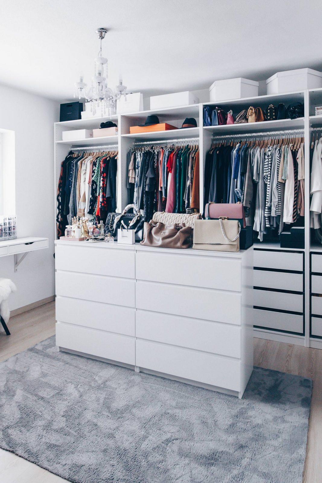 So Habe Ich Mein Ankleidezimmer Eingerichtet Und Gestaltet  Who Is von Ikea Schrank Selber Planen Photo