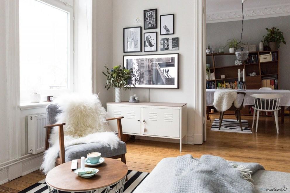 So Versteckst Du Deinen Fernseher Im Wohnzimmer – Elbmadame von Fernseher Im Wohnzimmer Verstecken Bild