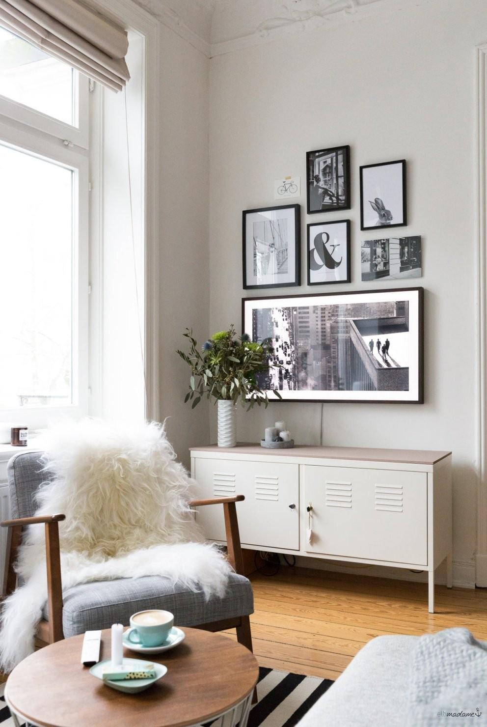 So Versteckst Du Deinen Fernseher Im Wohnzimmer – Elbmadame von Fernseher Im Wohnzimmer Verstecken Photo
