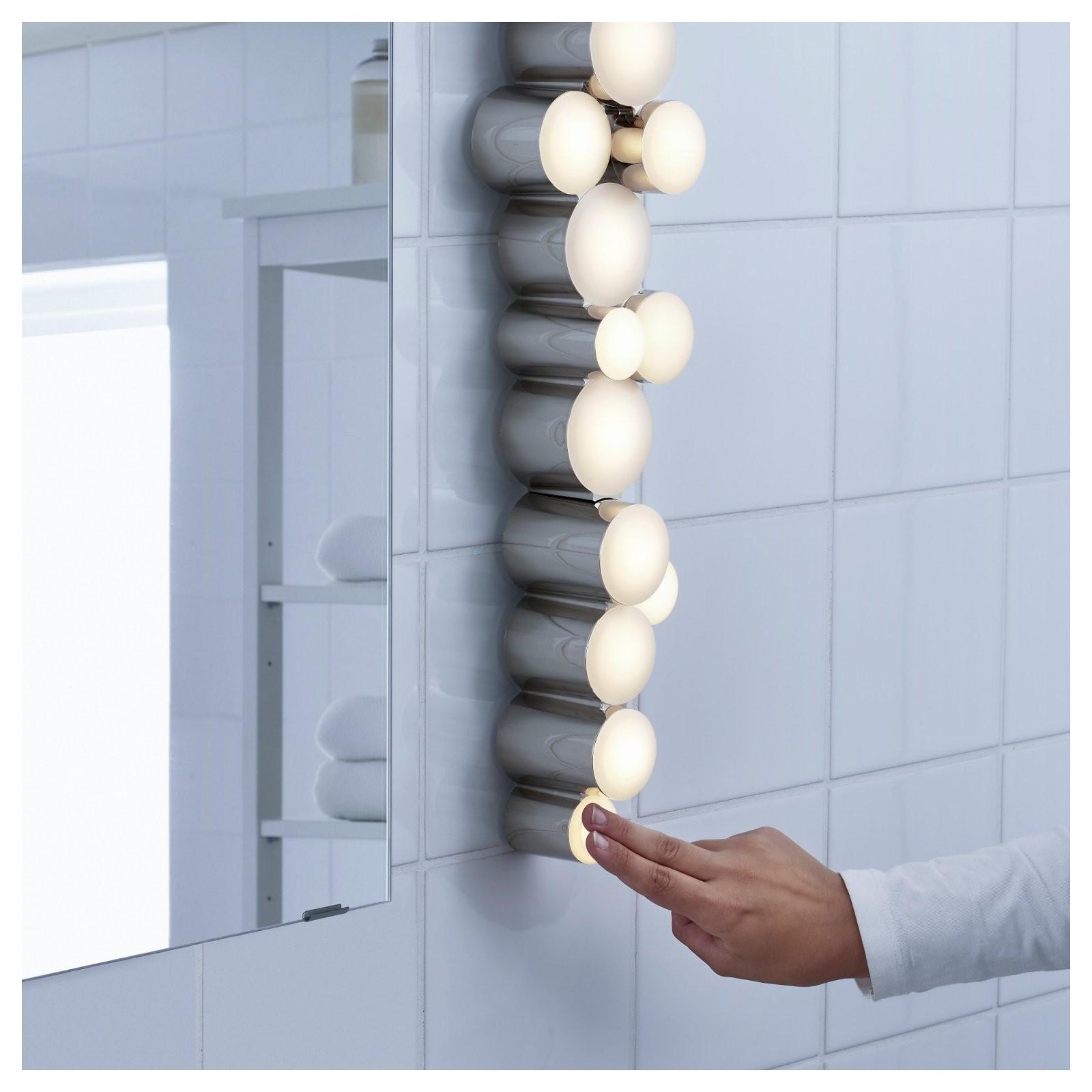 Södersvik Wandleuchte Led  Ikea von Schminkspiegel Mit Beleuchtung Ikea Bild