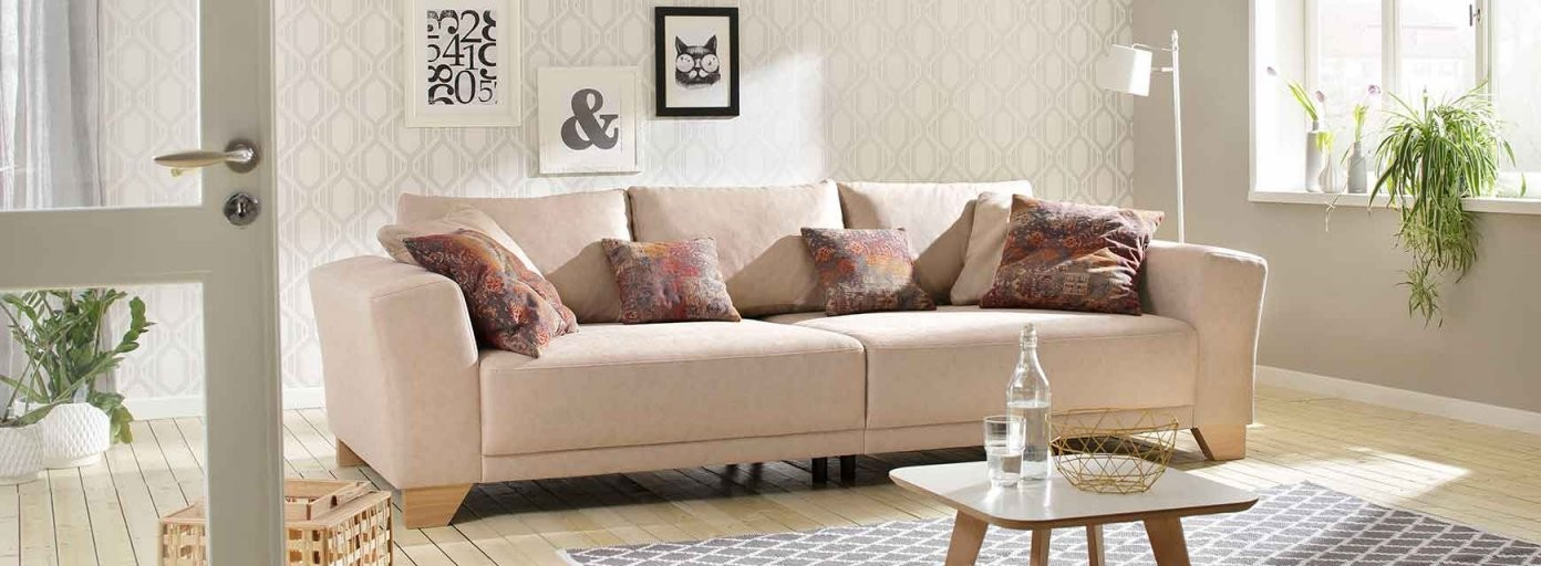 Sofa Landhausstil  Landhaus Couch Online Kaufen  Naturloft von Ecksofa Mit Schlaffunktion Landhausstil Bild