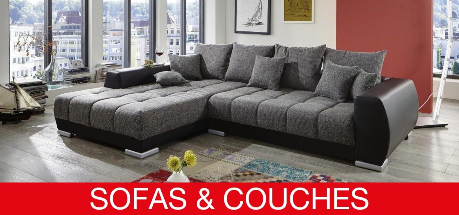 Sofas  Couches  Die Möbelfundgrube I Schneller Und Günstiger von Big Sofa Mit Schlaffunktion Und Bettkasten Bild