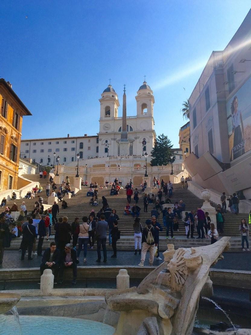 Spanische Treppe  Geschichte Und Insidertipps  Unterwegs In Rom von Webcam Rom Spanische Treppe Photo