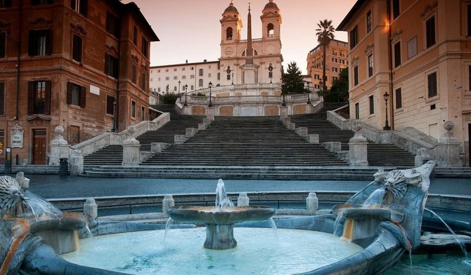 Spanische Treppe – Italien von Webcam Rom Spanische Treppe Bild