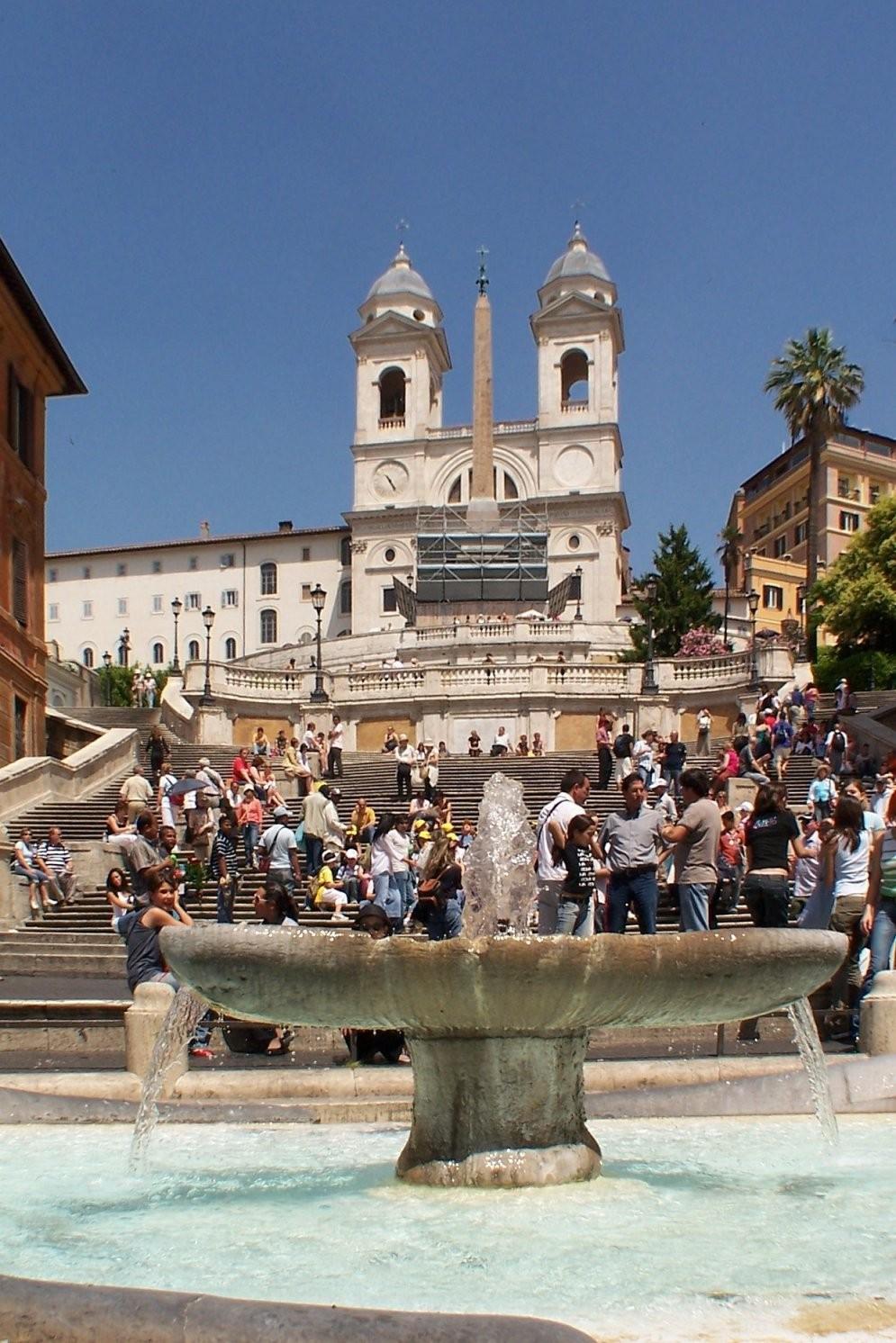 Spanische Treppe – Wikipedia von Webcam Rom Spanische Treppe Bild