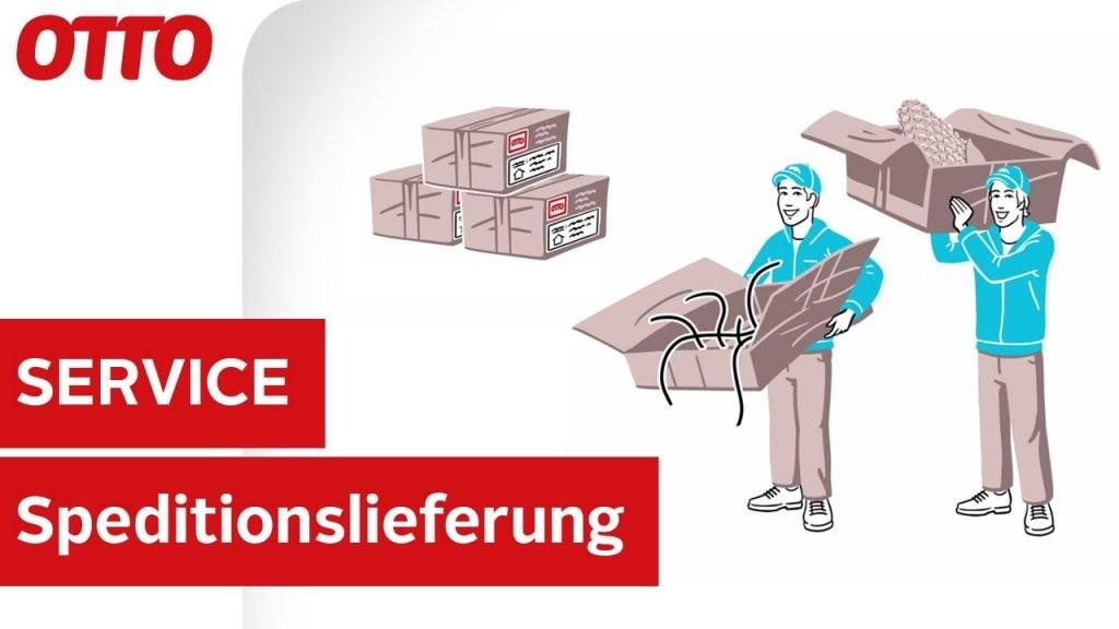 Speditionslieferung Mit Hermes In Nur 23 Werktagen  Lieferung von Otto Versand Telefonnummer Zum Bestellen Bild