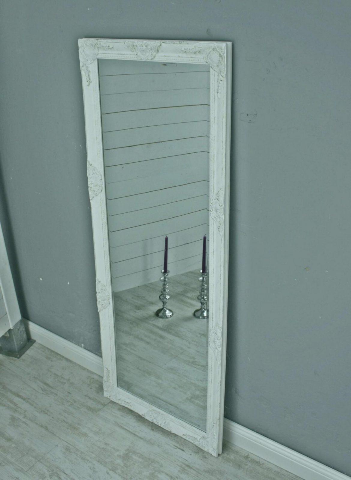 Spiegel Flur Groß Kreativ Spiegel Weiß Antik 150 X 60 Cm Holz von Barock Spiegel Silber Groß Bild