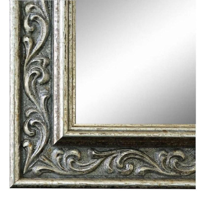 Spiegel Verona Silber 44  Online Bestellen von Barock Spiegel Silber Groß Bild