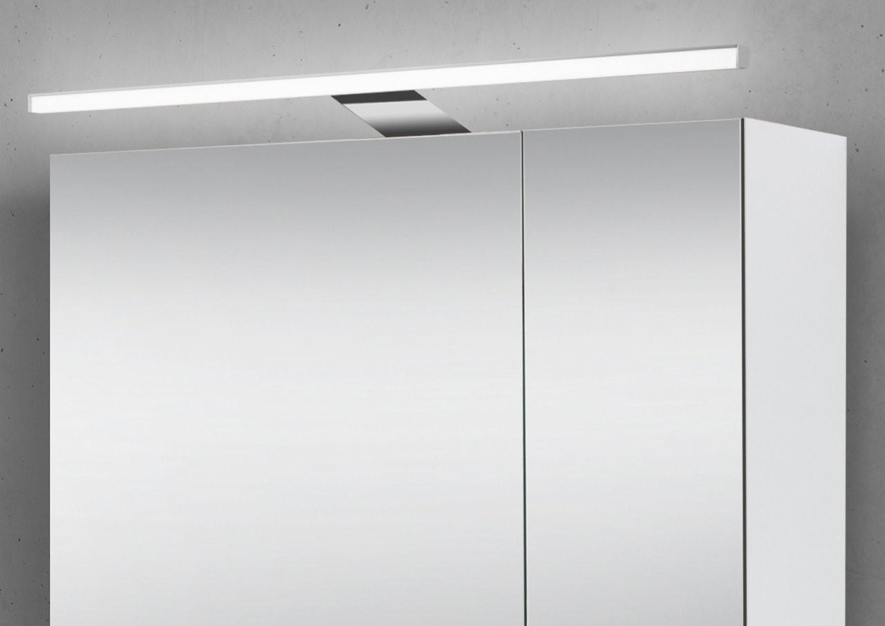 Spiegelschrank 60 Cm Mit Led Beleuchtung Doppeltverspiegelt von Bad Spiegelschrank Led Leuchte Bild