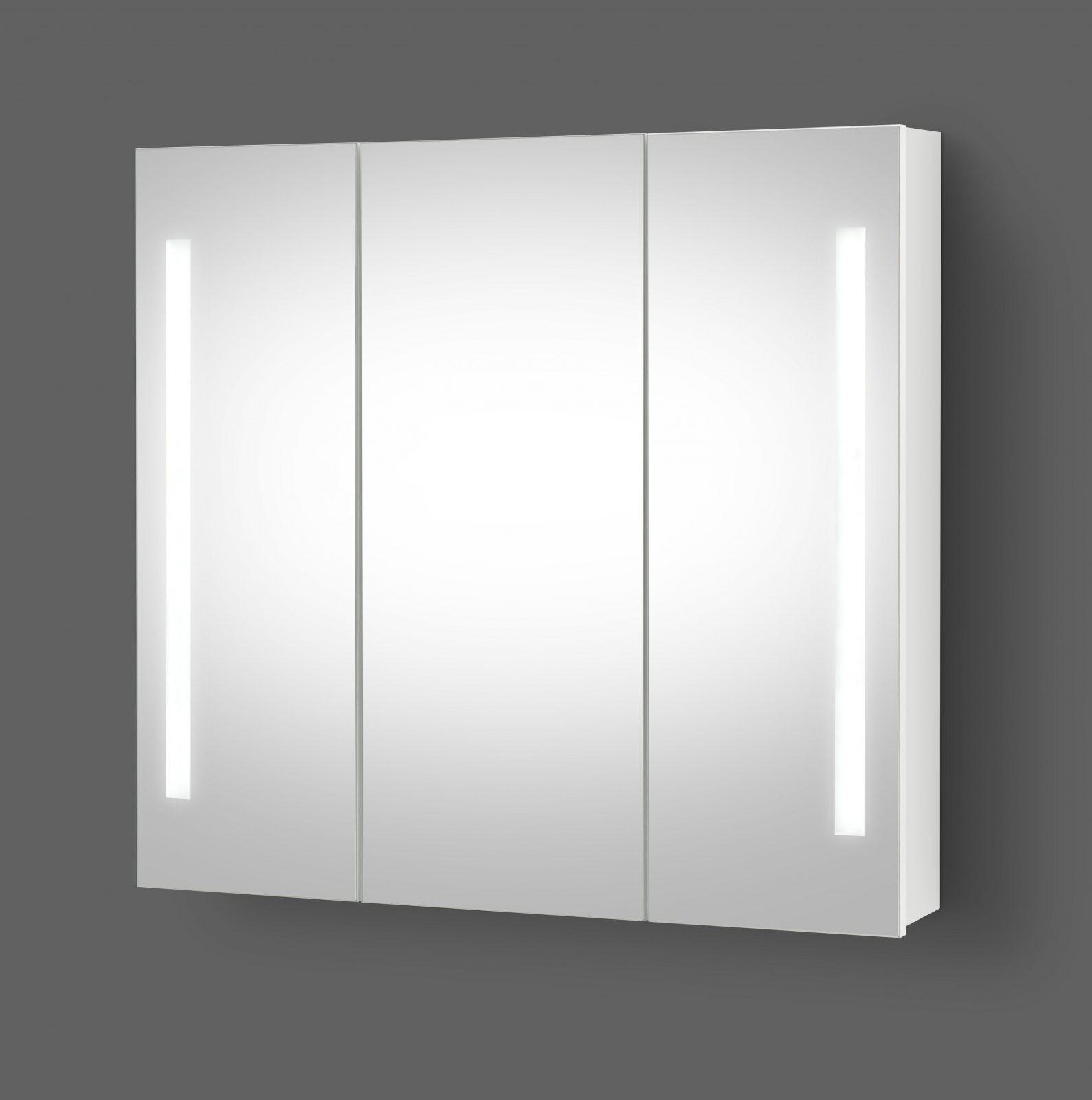 Spiegelschrank Mit Led Beleuchtung 90 Cm – Möbel Shop von Bad Spiegelschrank 100 Cm Breit Photo