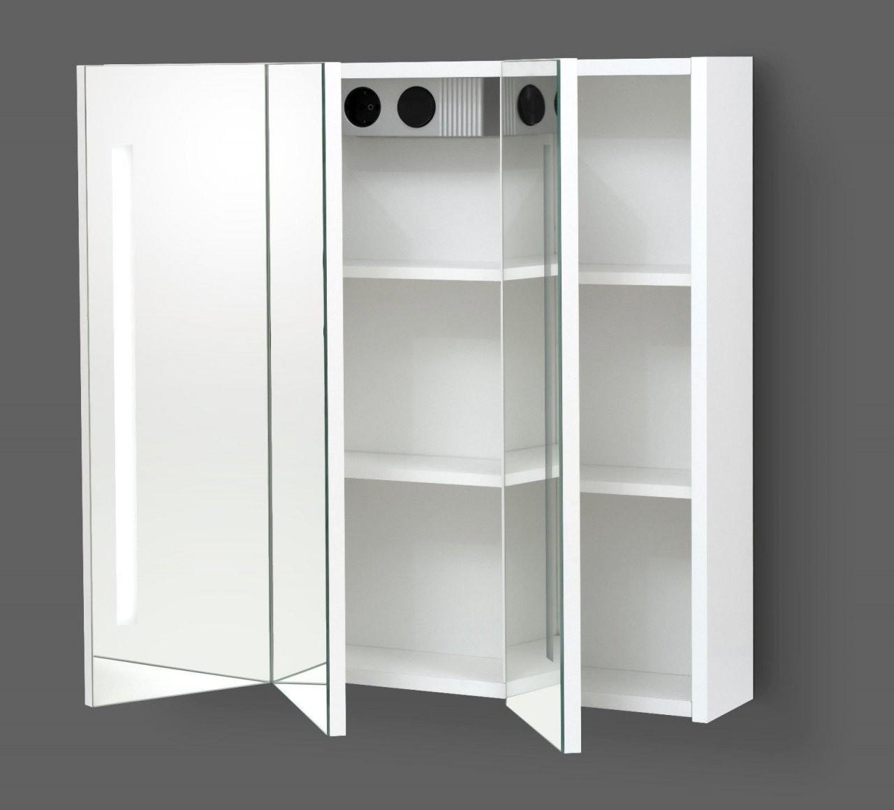 Spiegelschrank Mit Led Beleuchtung 90 Cm – Möbel Shop von Spiegelschränke Mit Led Beleuchtung Photo