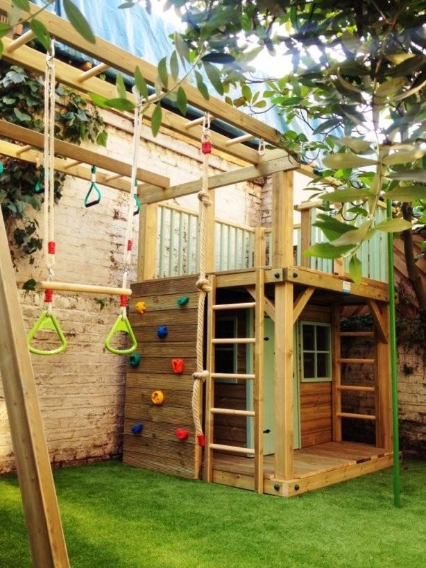 Spielhaus Für Den Garten Selber Bauen Diy Anleitung  Spielhaus von Holz Spielhaus Selber Bauen Photo