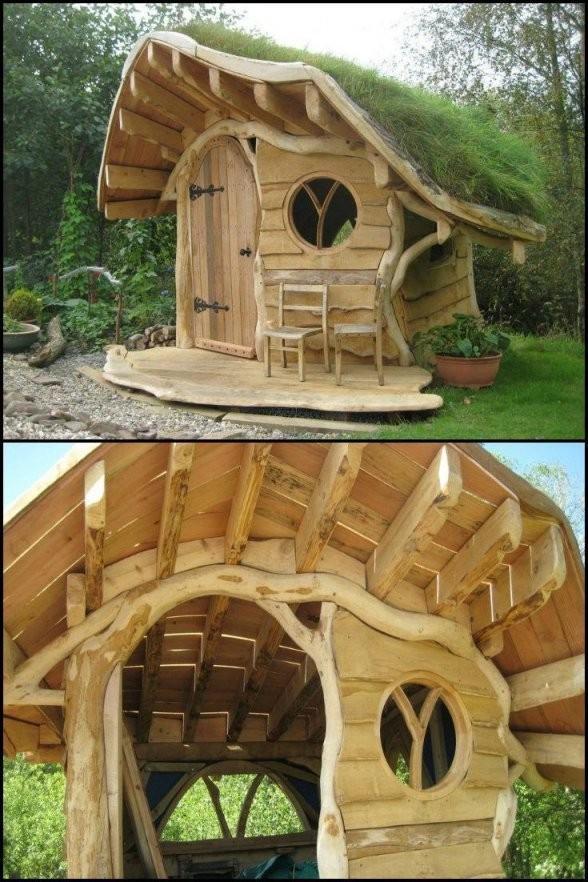 Spielhaus Garten Selber Bauen  Projects 4 Hubby In 2019  Play von Holz Spielhaus Selber Bauen Bild