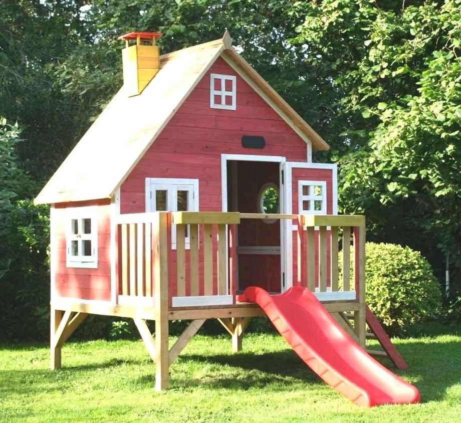 Spielhaus Holz Garten Einzigartig Frisch 36 Spielhaus Garten Selber von Holz Spielhaus Selber Bauen Bild