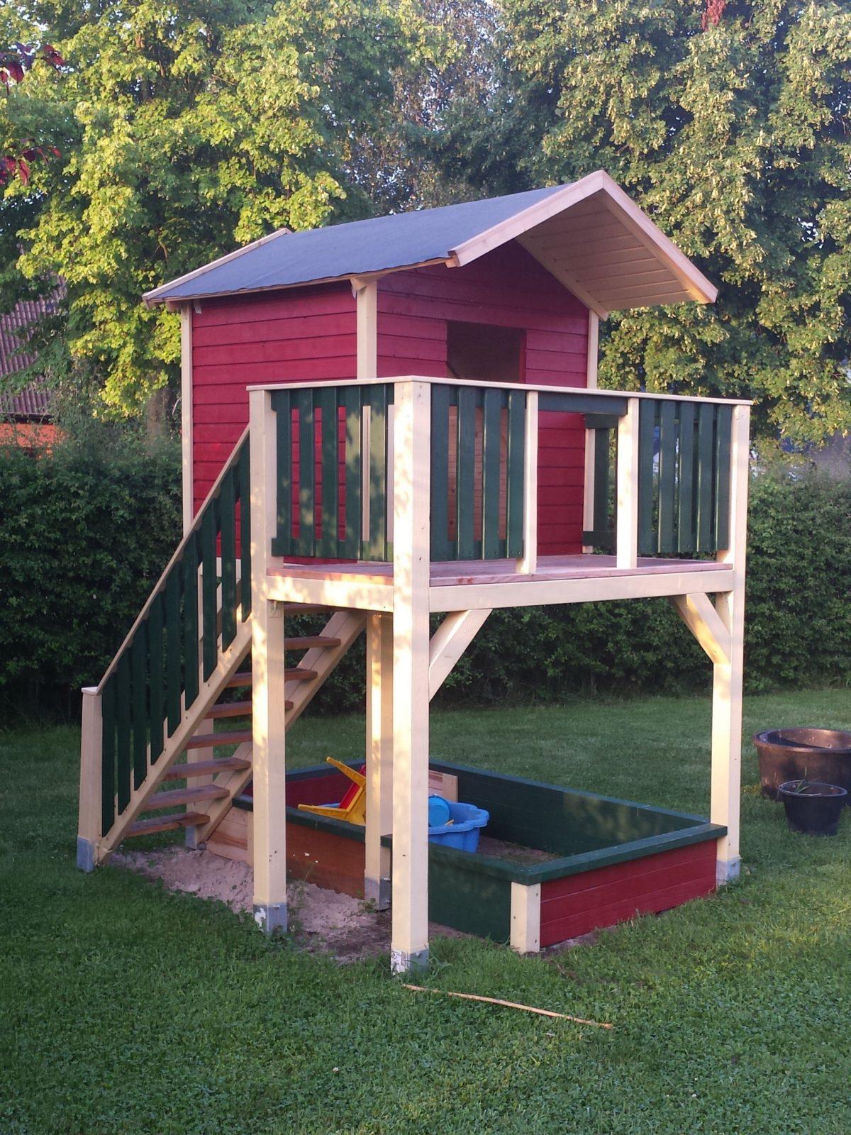 Spielturm Mit Treppe Bauanleitung Zum Selber Bauen  For My von Kinder Holzhaus Selber Bauen Bild