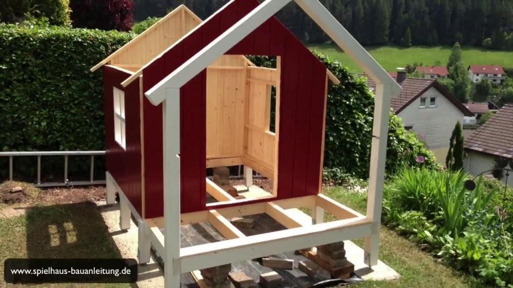 Spielturm Selber Bauen  Spielhaus Selber Bauen  Stelzenhaus Selber von Holz Spielhaus Selber Bauen Bild