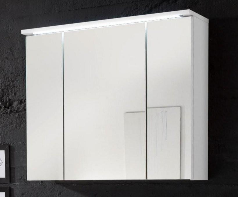 Splash Spiegelschrank Inkl Ledbeleuchtung Weiß  Real von Spiegelschränke Mit Led Beleuchtung Bild