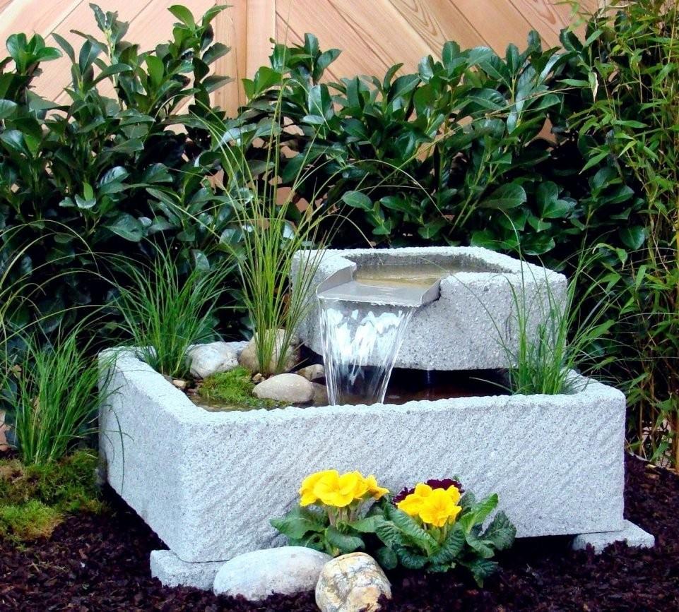 Springbrunnen Brunnen Wasserspiel Granitwerkstein Stein 118Kg  Dog von Kleinen Brunnen Selber Bauen Bild