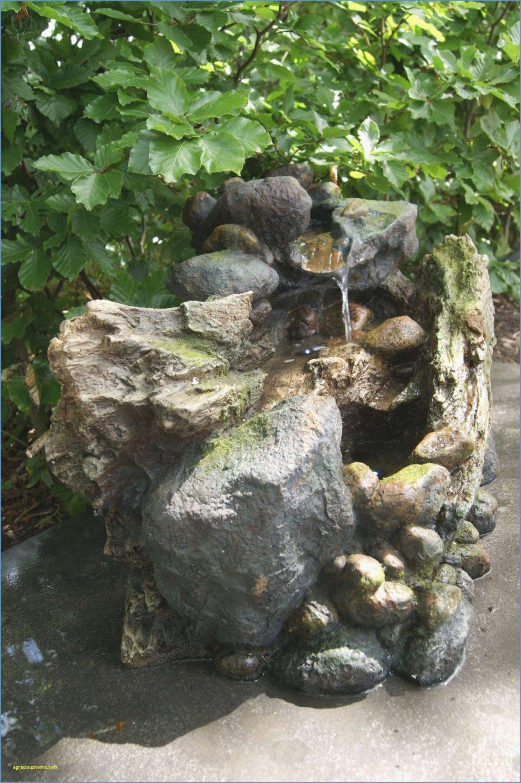 Springbrunnen Im Garten Luxus Brunnen Garten Selber Bauen  Garten von Brunnen Garten Selber Bauen Bild