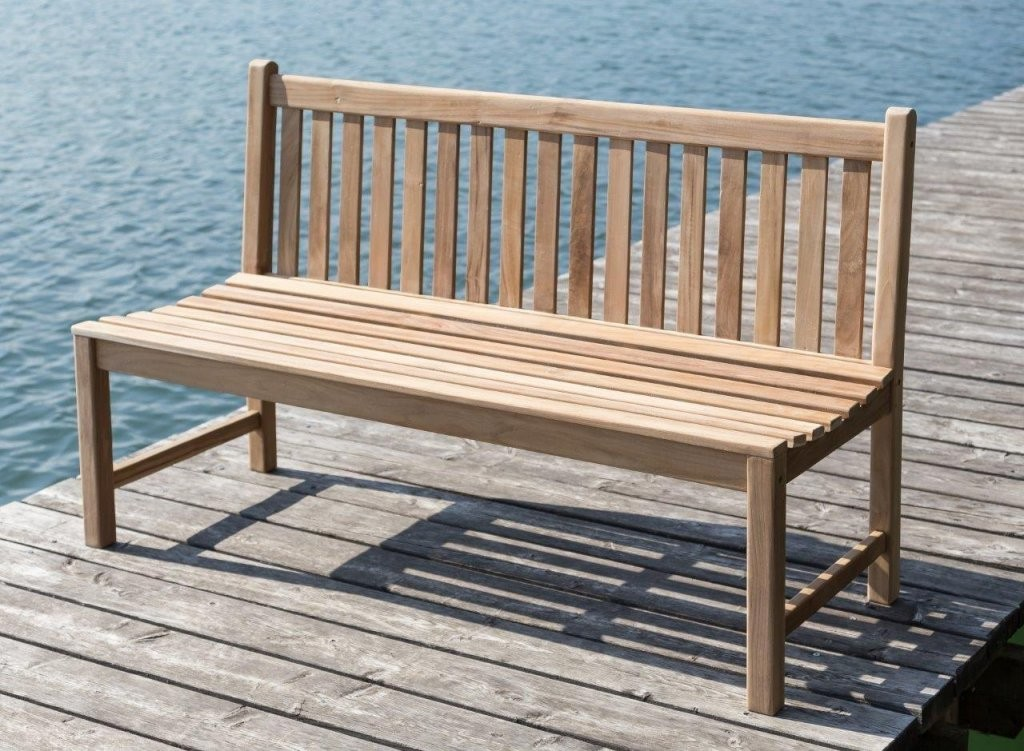 Stabile Bank Gartenbank Picadelly 120 Cm In Premium Teak Ohne von Gartenbank Holz 120 Cm Photo